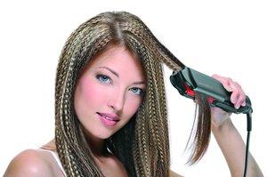 Гофре: способы укладки волос