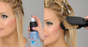 Укладка волос гофре: советы по выполнению