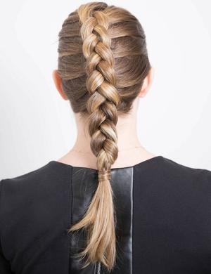 Плетение из волос дракончика
