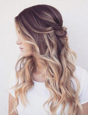 Двухцветное окрашивание волос в салоне