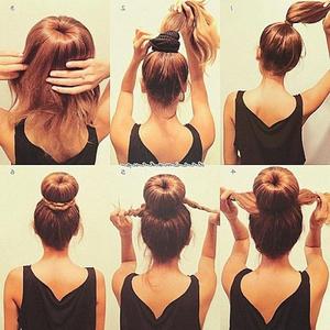 Преимущества бублика для волос