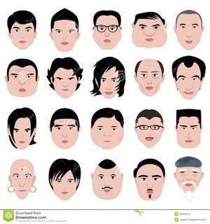 Форма лица и прическа